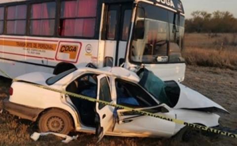 Familia sufrió fatal accidente