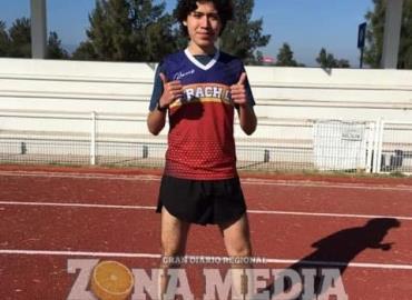 Alexis García presea de oro Inter-Cobach