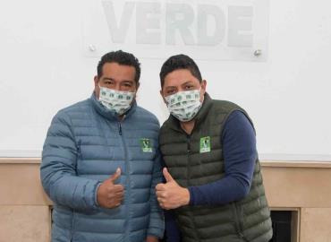 Adelaido Cabañas candidato del PVEM