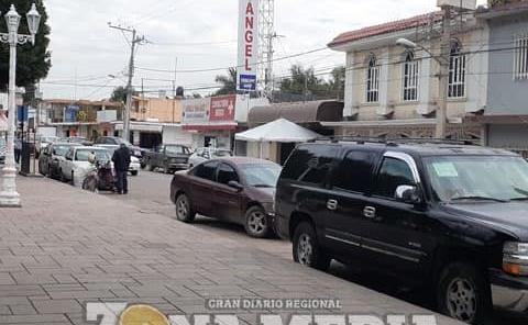 Plaza luce sin vendedores