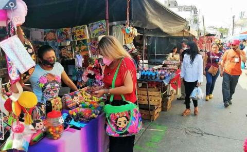 Arco 'sanitizante' habrá en tianguis