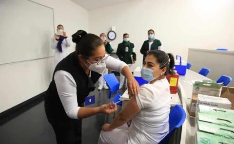 Sin reacciones alérgicas tras vacunación anticovid en Tamazunchale