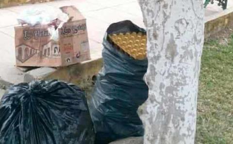 Utilizan esquinas  como basureros
