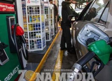 Sin aumentó precios de los combustibles