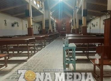 Iglesia tuvo inundación