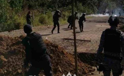 CNDH condena  violencia policial