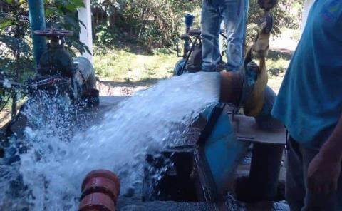 Nuevo Sistema de agua y Alumbrado Público LED