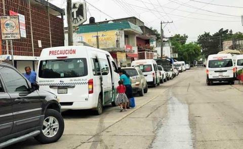 No subirán tarifa en transporte colectivo