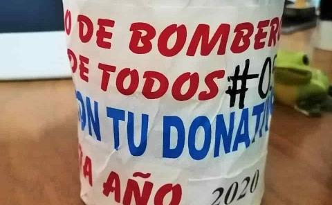"""Contabilizan"" Bomberos 22 mil pesos en 19 botes"