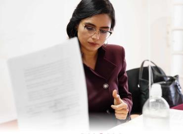 Paloma Aguilar busca la gubernatura de SLP