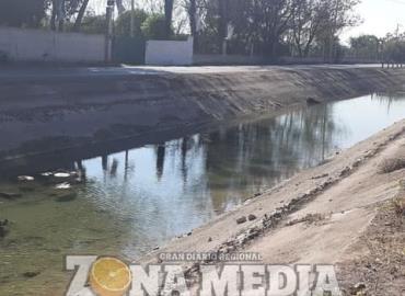Hay poca agua en canal por limpieza