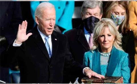 Biden se convierte en el presidente 46º de EU
