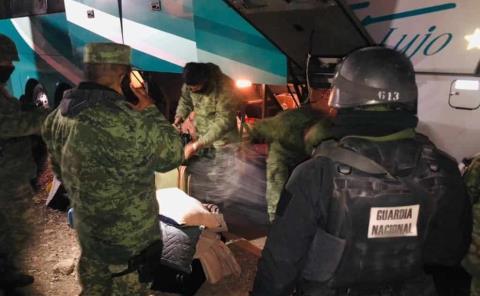 Ejército Mexicano asegura cocaína y marihuana en San Luis Potosí