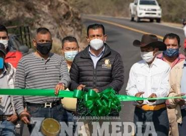 Gobierno inauguró el camino al Cañón