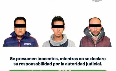 Detienen a sujetos por presunta droga