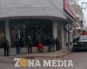 Reforzaron medidas en los bancos en ZM