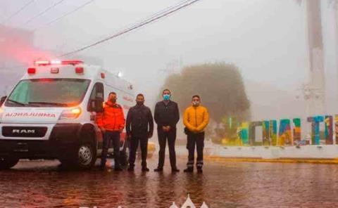 Fortalece salud y seguridad de familias de Zacualtipán