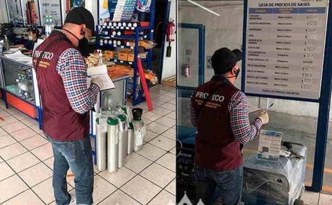 Alertan por venta de tanques de oxígeno