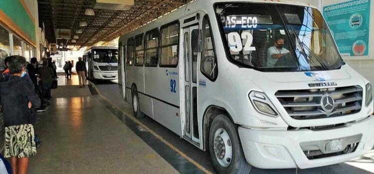 Analizan el horario para los autobuses