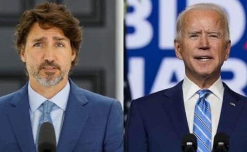 Biden y Trudeau acuerdan reunirse