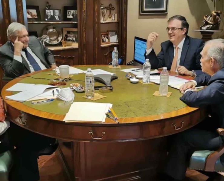 Van juntos AMLO y Biden contra Covid
