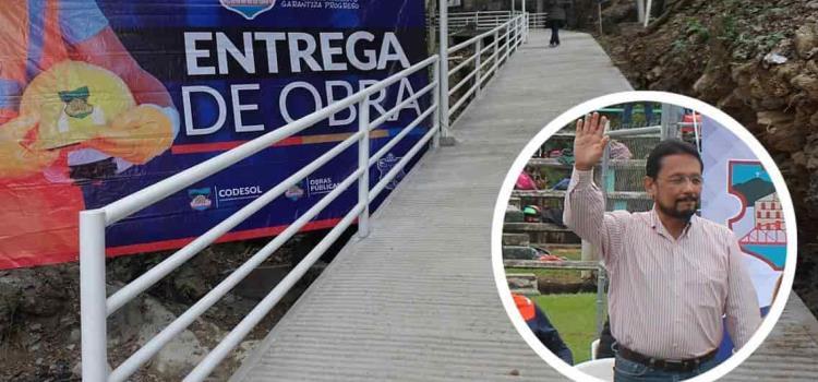 Entrega Toño Costa trascendental obra en San Rafael