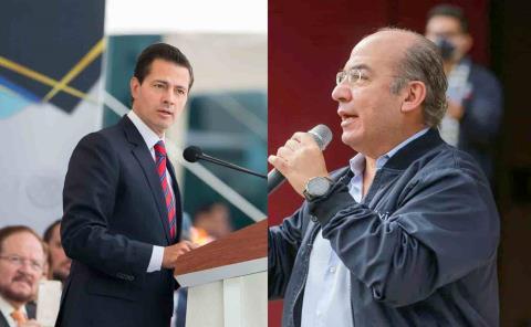 Reconoce Segob a Felipe Calderón y a Peña Nieto