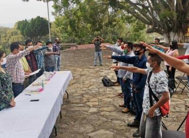Rinden protesta nuevos jueces