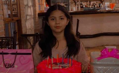 Danna Vanessa cumplió 10 años