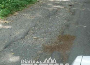 Líneas carreteras en pésimo estado