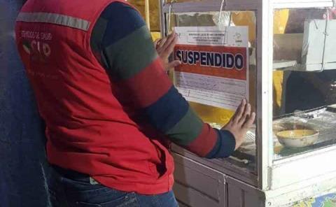 Seis negocios suspendidos