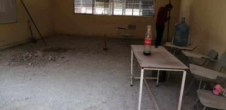 """Remozan aulas en la """"Ponciano"""""""