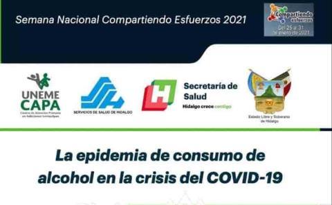 Desarrolla pláticas virtuales sobre el consumo de alcohol