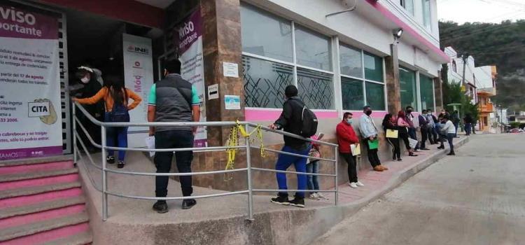 INE cerrará oficinas el 10