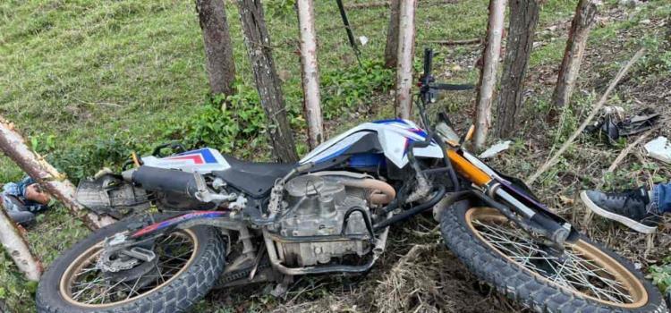 Murió motociclista tras ser embestido