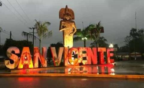 En San Vicente bajó población