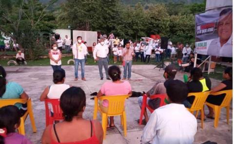 Frenarán mítines en zona rural
