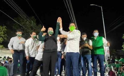 Victoria histórica prevé el Verde-PT en Ébano