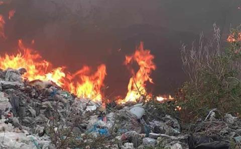 Apagaron incendios PC y los bomberos
