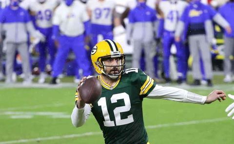 Aaron Rodgers es el MVP de la NFL