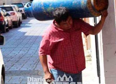 Pobladores solicitan  controlar venta de gas