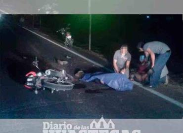 Motociclista perdió la vida