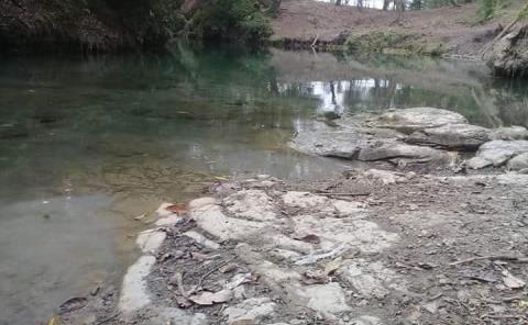 Secan el río Choy