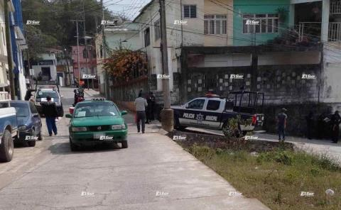 Acribillado en Bo. San Rafael Tamazunchale