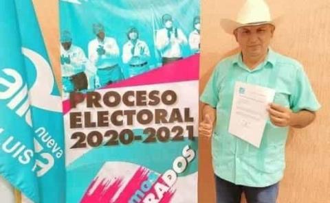 Alcalde Chilo Mejía registró candidatura