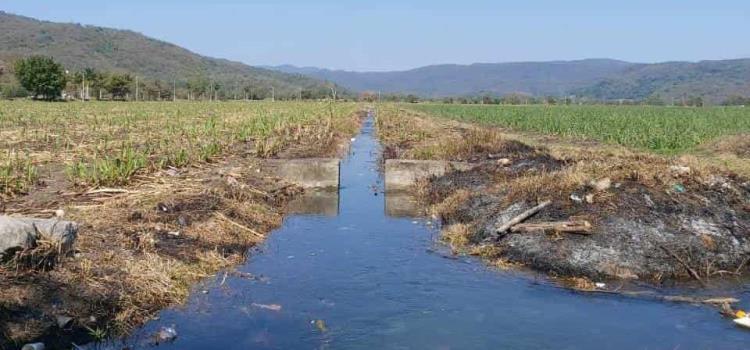Bajo nivel de ríos por riego agrícola