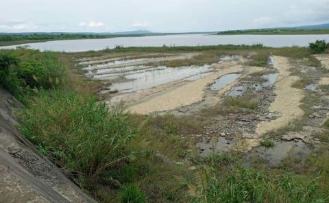 Cayó 26.4% nivel de presa La Lajilla