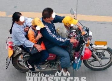 Aumenta número de accidentes en moto