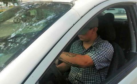Multas a taxistas por no usar 'cubrebocas'