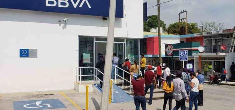 Billetes falsos en Bancomer